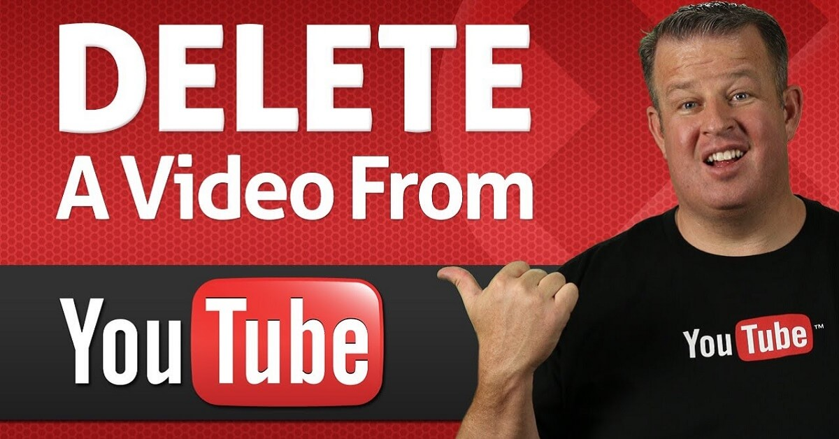 How to delete youtube vidoes