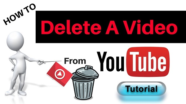 delete your videos on youtube