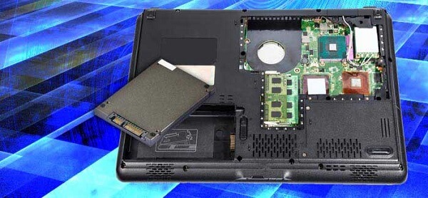 steps to follow while removing a Hard Drive from a Laptop