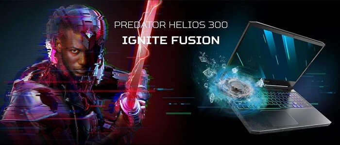 Acer Predator Helios 300 Graphics for Gaming
