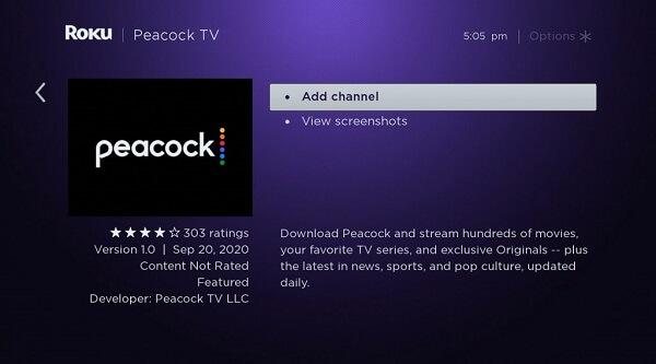 How to Download Peacock TV on a Roku Device