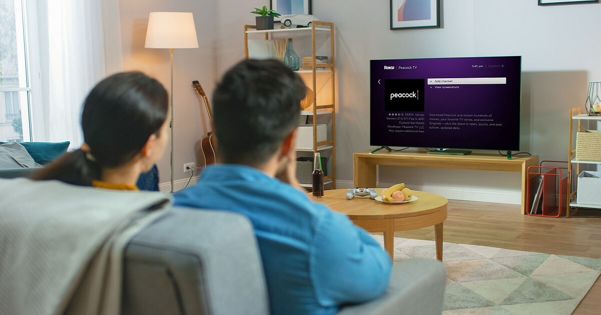 How to get Peacock on Roku