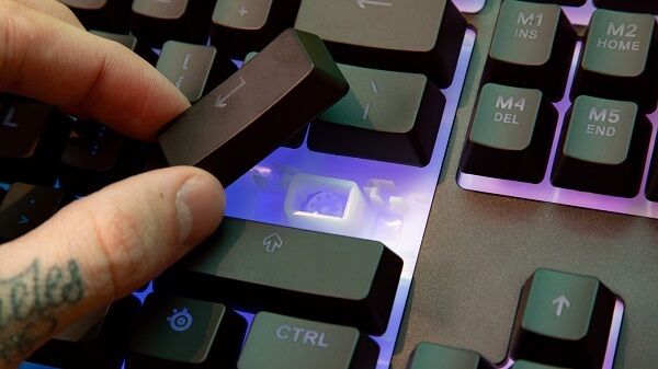 Try to avoid getting your Keyboard dirty