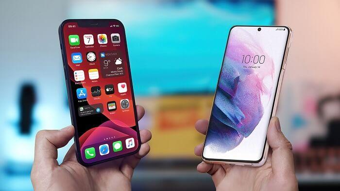 Apple iPhone 12 vs Samsung Galaxy S21