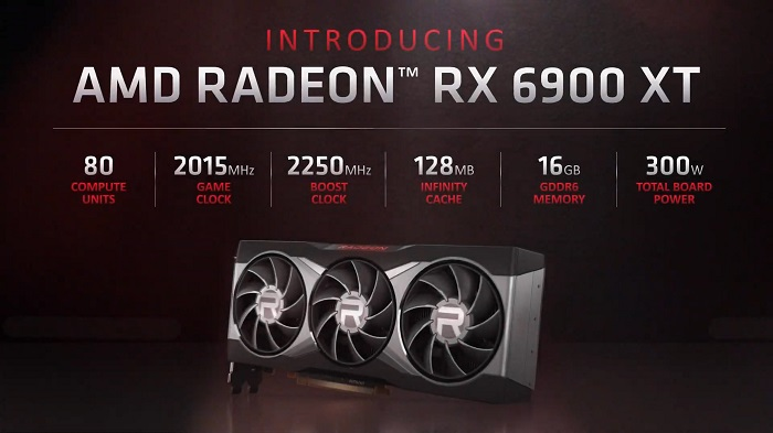 How does the AMD RX 6900 XT perform
