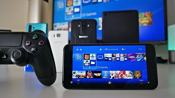 On PS4, turn on the remote play feature