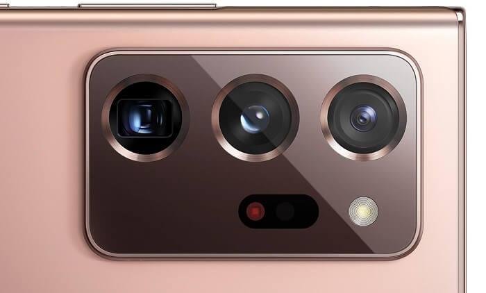 The camera specs