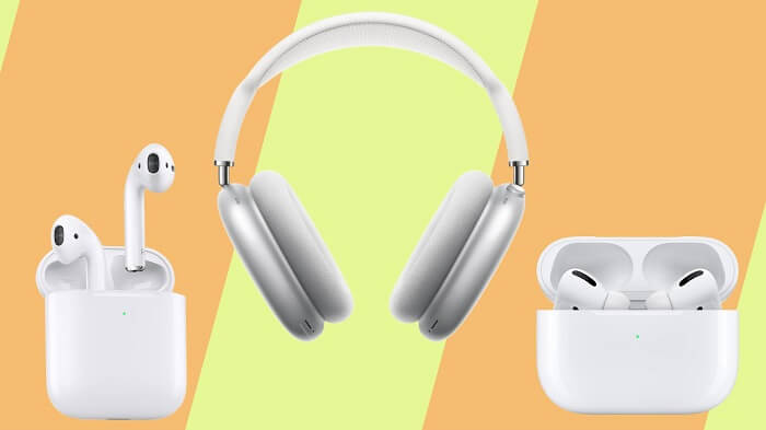 AirPods Pro vs AirPods Max Design and charging differences