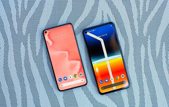 Google Pixel 4A and Pixel 5