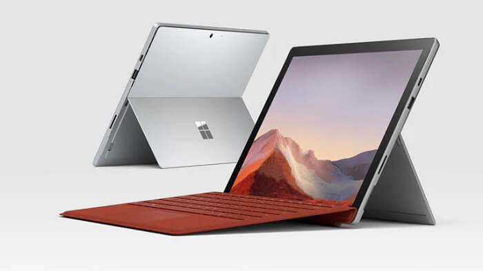 Surface pro 7 Has the design changed