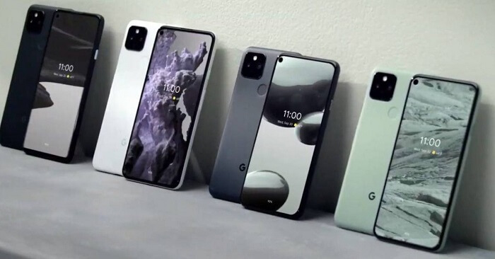 Pixel phones – loudspeakers and biometric facilitation