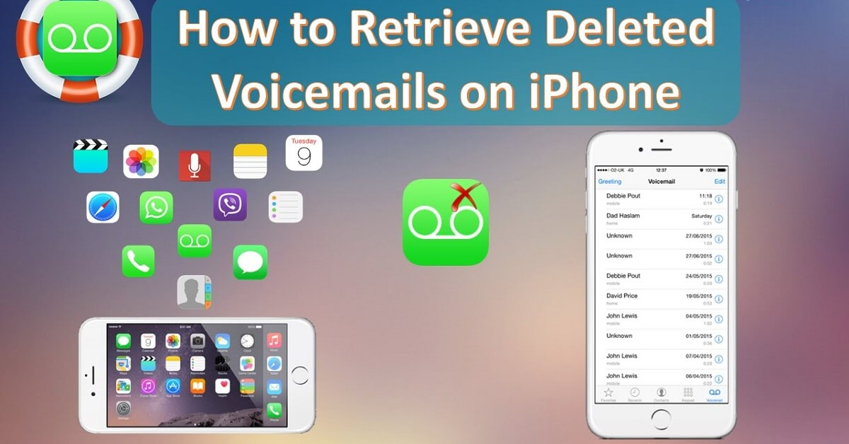 how to retrieve deleted voicemail