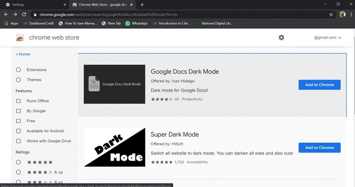 Add to Chrome a click and your download will start.