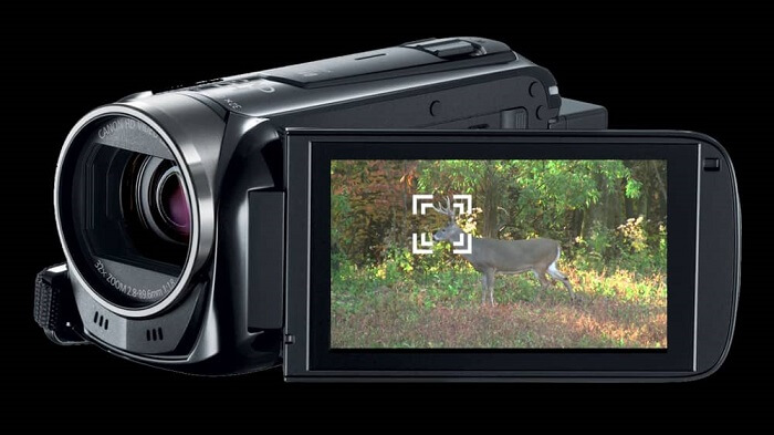 Canon VIXIA HF R700 Powerful 57x Zoom