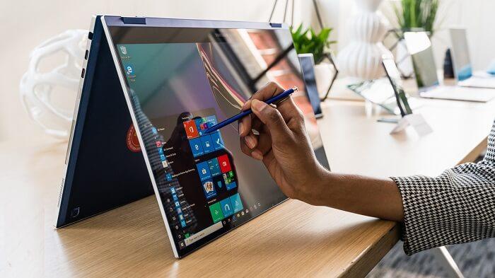 Samsung Galaxy Book Flex – pen