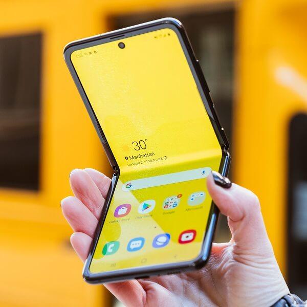 Samsung Galaxy Z Flip 5G design