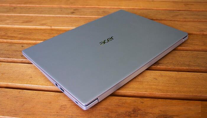 The Acer Swift 3 design