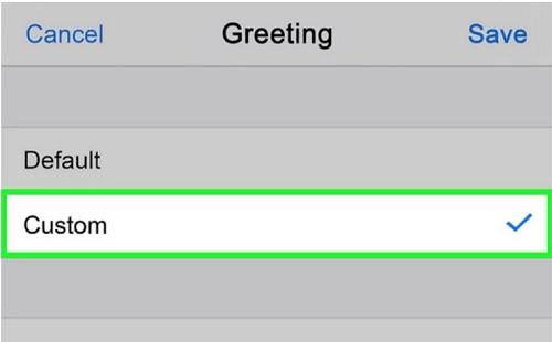 custom your settings