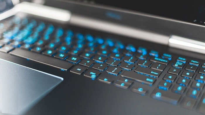 keyboard is powered with RGB lighting