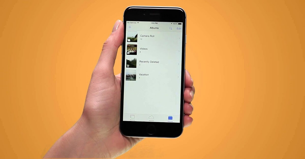 How to delete all photos from iPhone